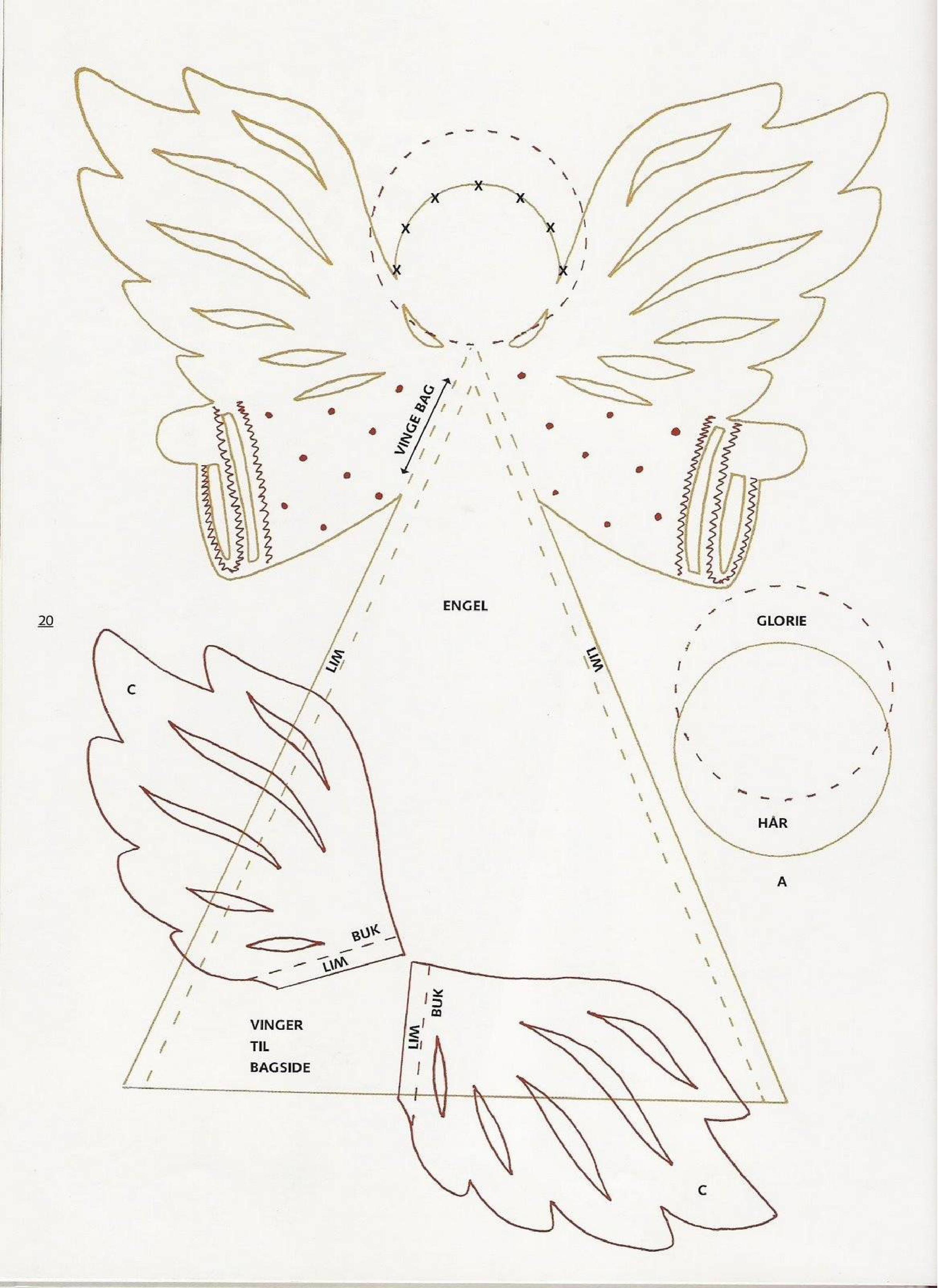 ангелочек картинка для поделки данные наличии бассейне