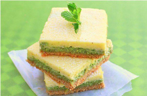 Мятно-лимонные пирожные. Обсуждение на LiveInternet - Российский Сервис Онлайн-Дневников