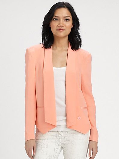 7a93afa1cc67a Rebecca Minkoff - Becky Silk Jacket - Saks.com | Cheaper clothes to ...
