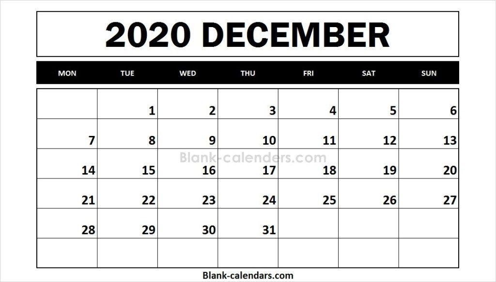 Free Printable 2020 Calendar December 2021 Calendar September Calendar Calendar