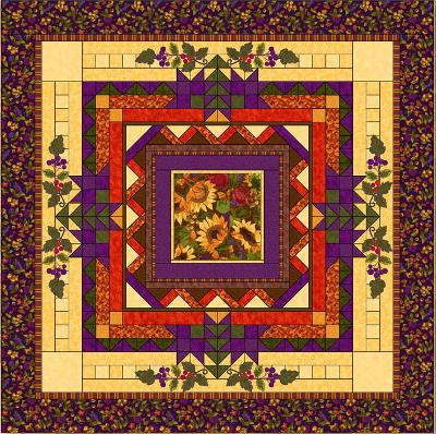 thanksgiving quilt patterns   Happy Thanksgiving! Free Pattern ... : free thanksgiving quilt patterns - Adamdwight.com