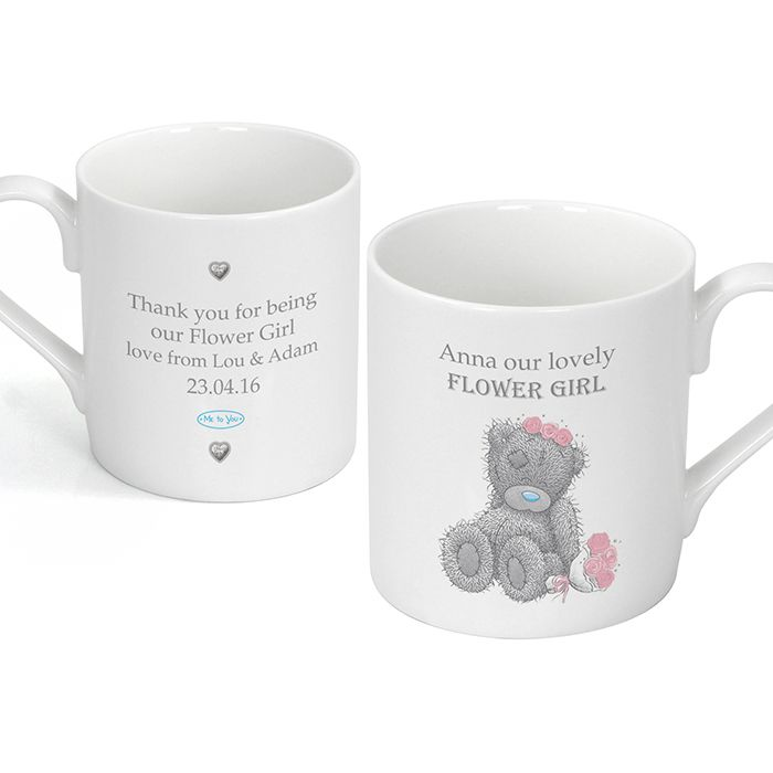 A personalised mug for the women in the bridal party.  £10.99 including UK postage http://www.wedding-giftsonline.co.uk/me-to-you-female-wedding-mug-4056-p.asp
