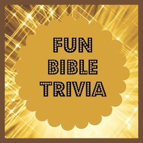 Bible Lessons for Kids: Fun Bible Trivia | Church | Bible lessons