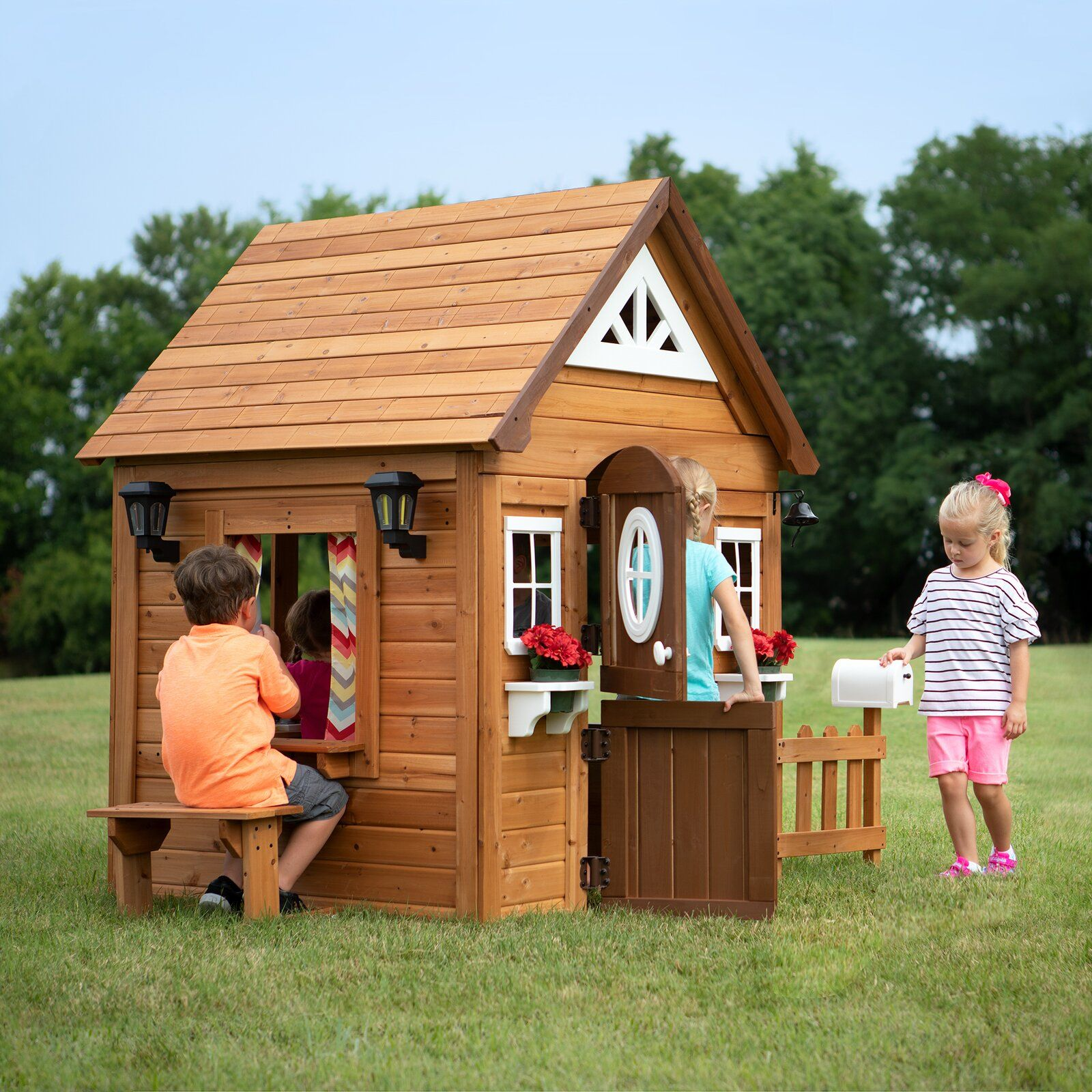 Aspen 7 X 4 Playhouse Play Houses Build A Playhouse Kids Playhouse