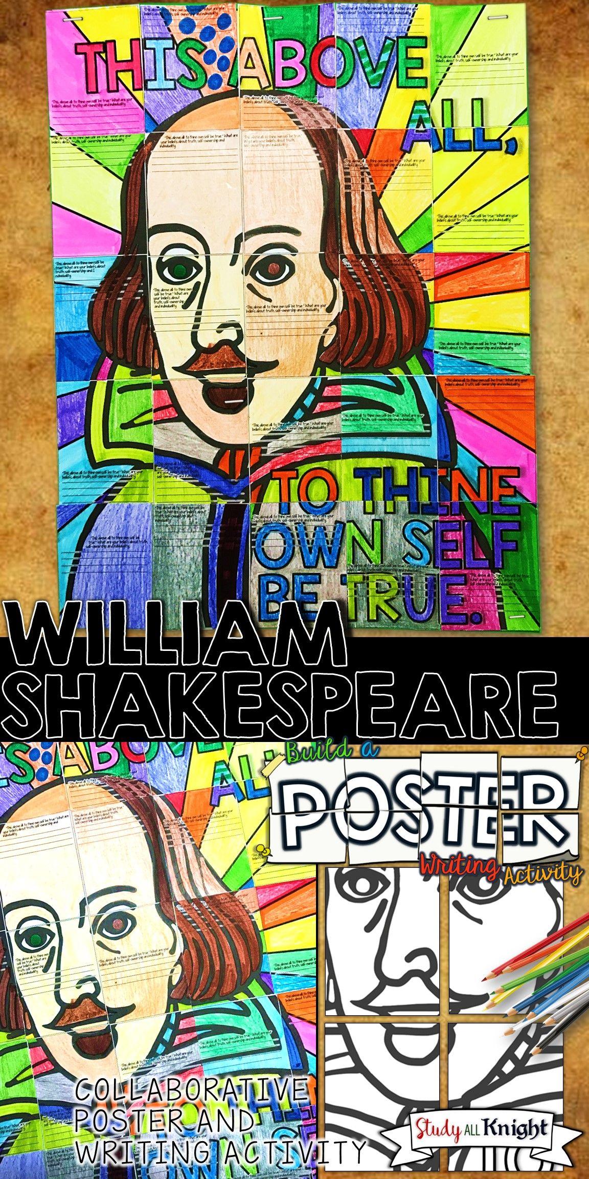 William Shakespeare Writing Activity Collaborative
