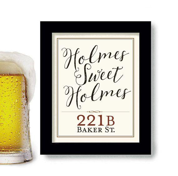 Sherlock Holmes Gift Idea, 221B Baker Street