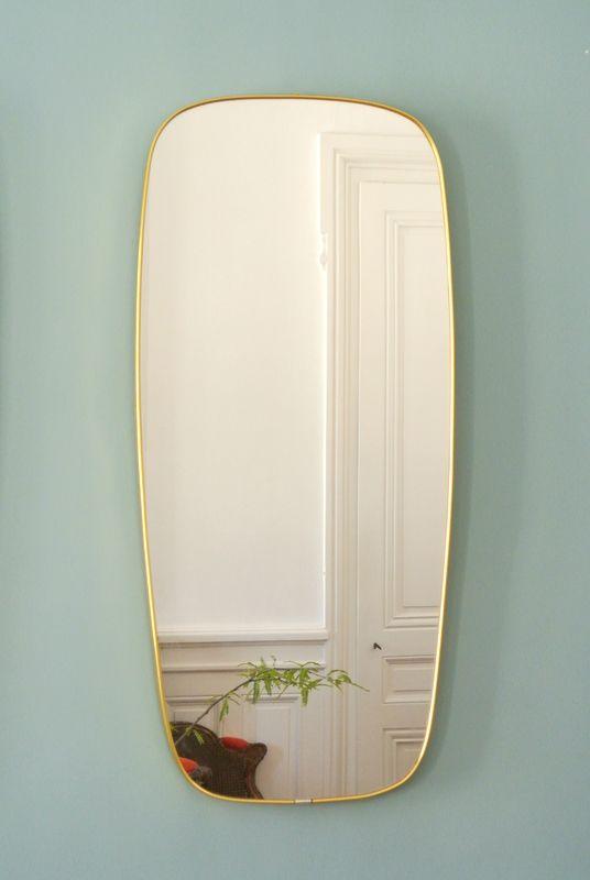 Miroirs italiens des années 50 - Solveig vintage galerie ...