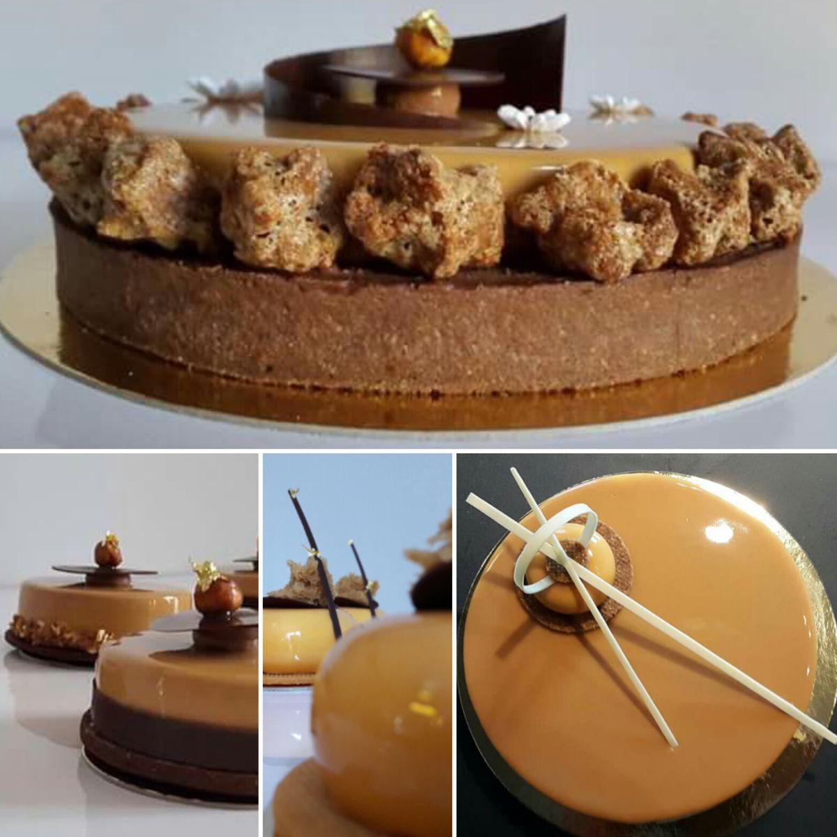 gla age miroir au caramel pour le gla age des entremets caramel beurre sale pinterest. Black Bedroom Furniture Sets. Home Design Ideas