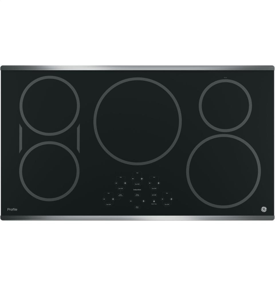 Ge Profile Php9036sjss 36 Built In Induction Cooktop With 5