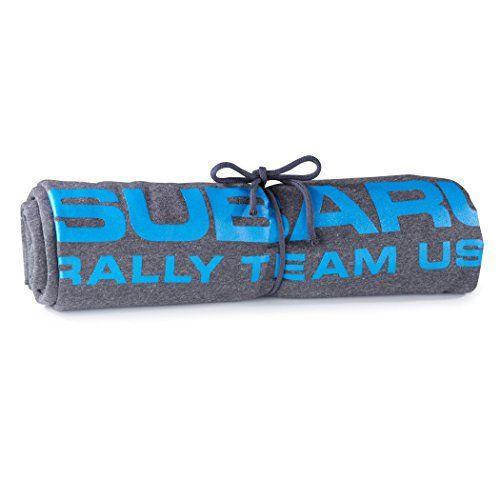 Official Genuine Subaru Rally Team Usa Sweatshirt Throw Roll Up Sti Wrx Blanket