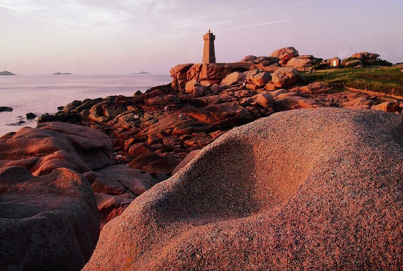 France Brittany The Pink Granite Coast In 2020 Brittany Granite France