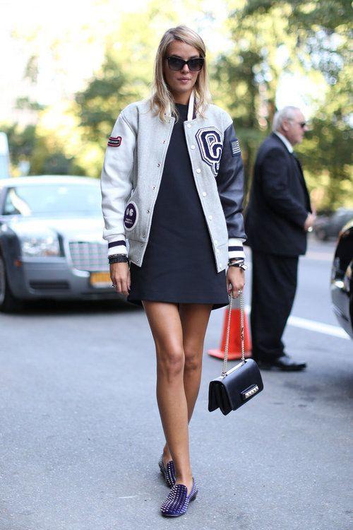 Tendência: Varsity jacket   Fashion by a little fish