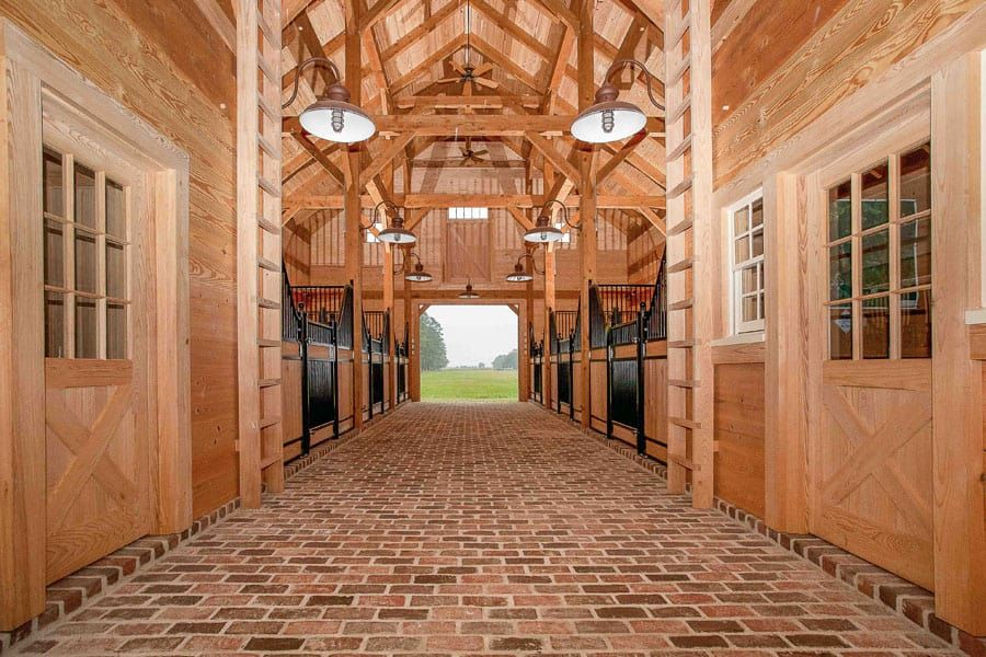 Fall In Love With These Wooden Horse Barns Horse barns