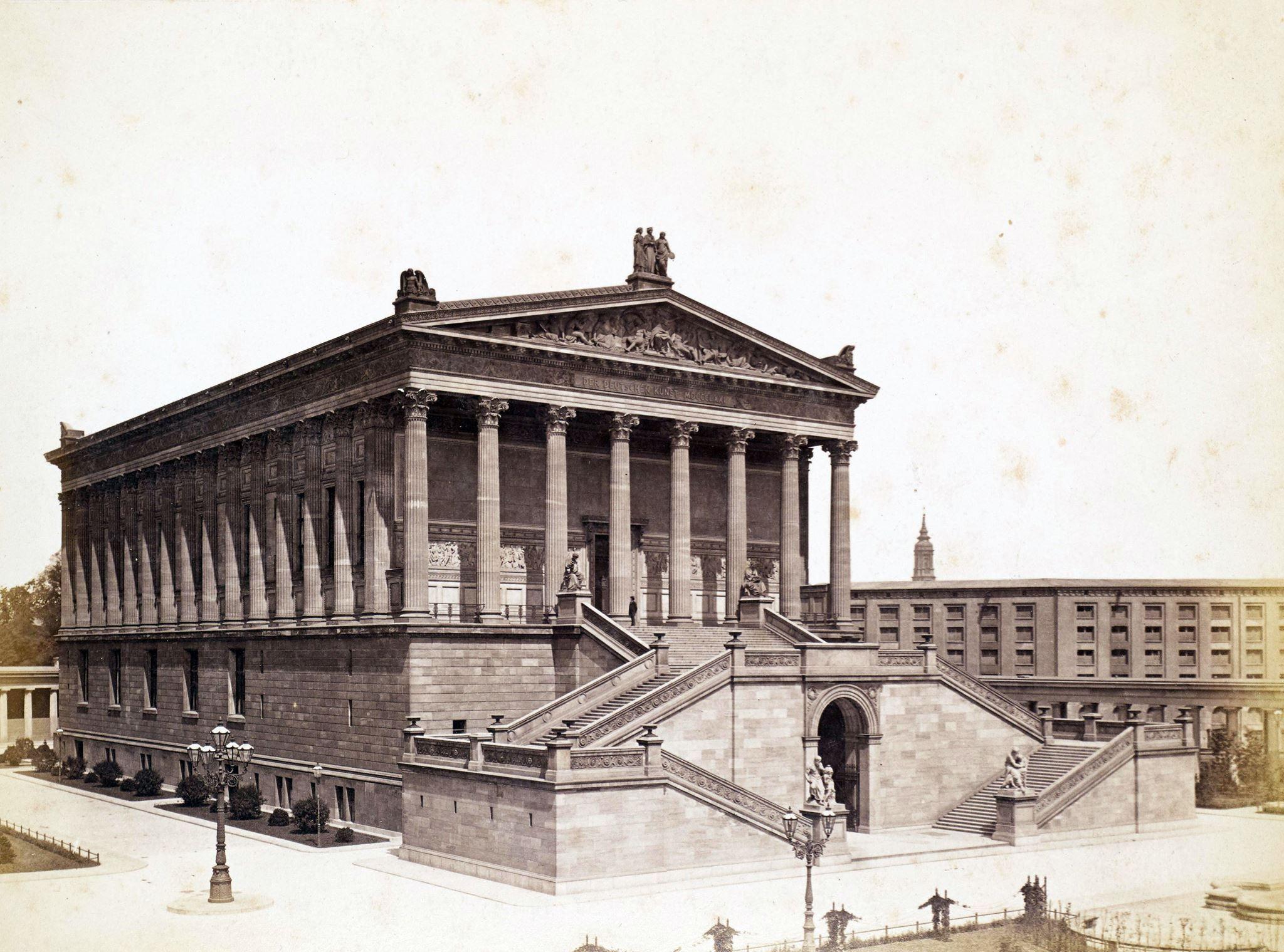 1884 Die Nationalgalerie Von Suden F A Schwartz Regi Berlin Old Berlin Berlin Anno