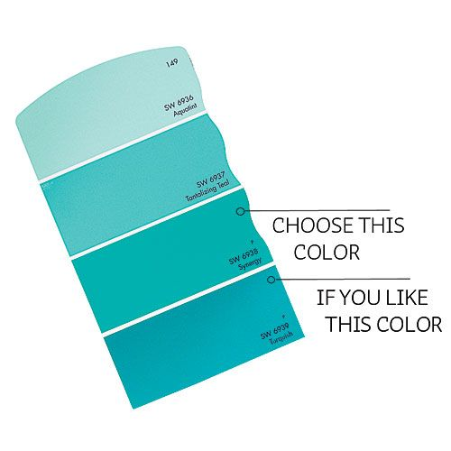 Blue Paint Swatches how to choose colors and paint like a pro | farby na maľovanie