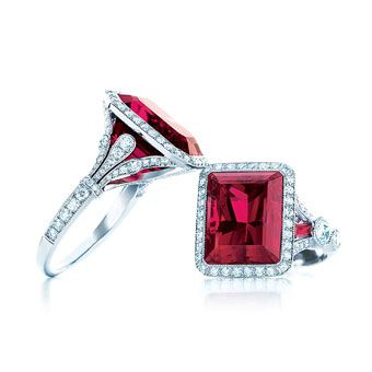 red wedding accessories engagement and wedding rings