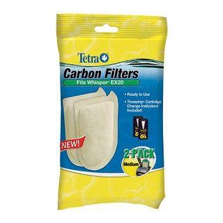 Tetra Carbon Filters Medium, 2pk, Multicolor