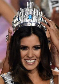 MISS UNIVERSE 2014, winner Miss Colombia