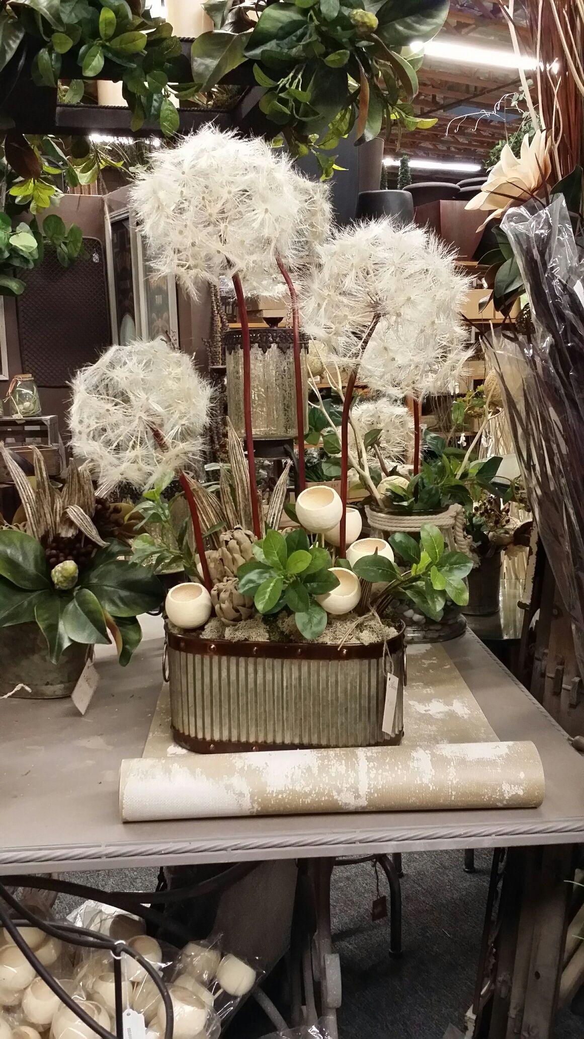 Artificial Dandelion Arrangement From Askren And Sons In Tucson