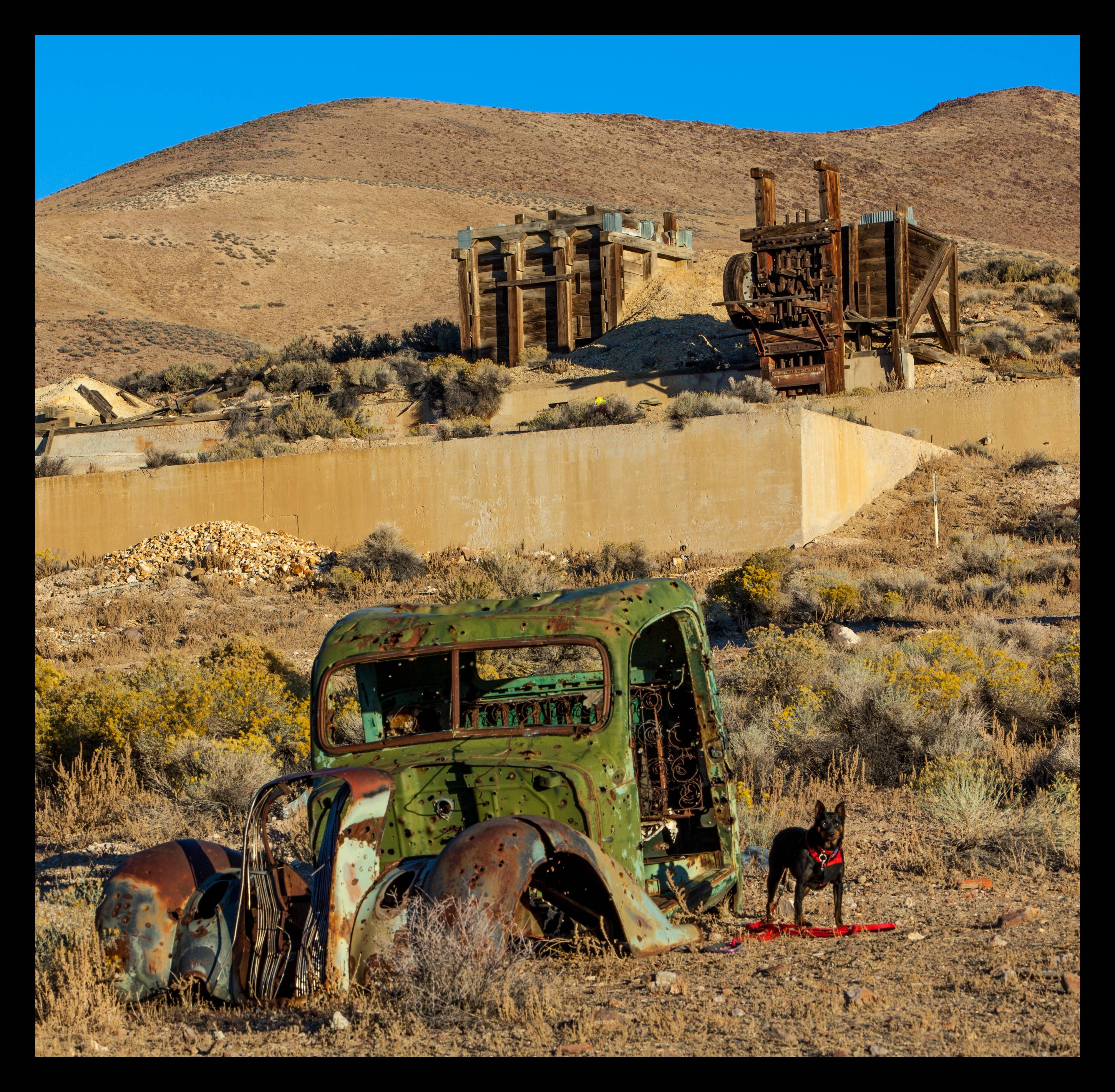 Rommel At Tunnel Camp Mine Lovelock Nevada