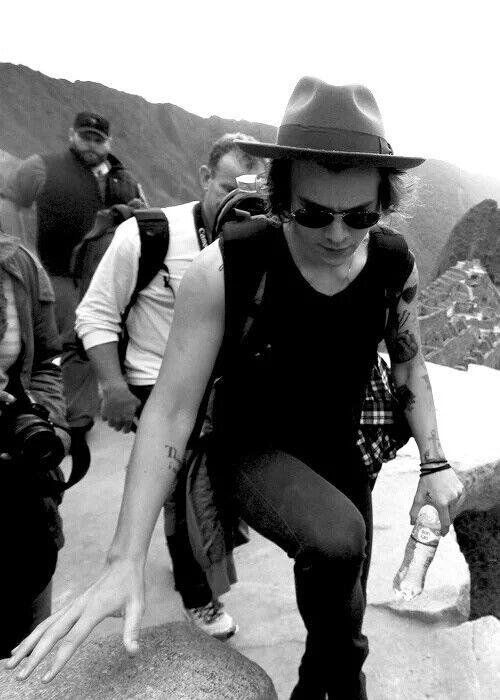 Harry in Machu Pichu