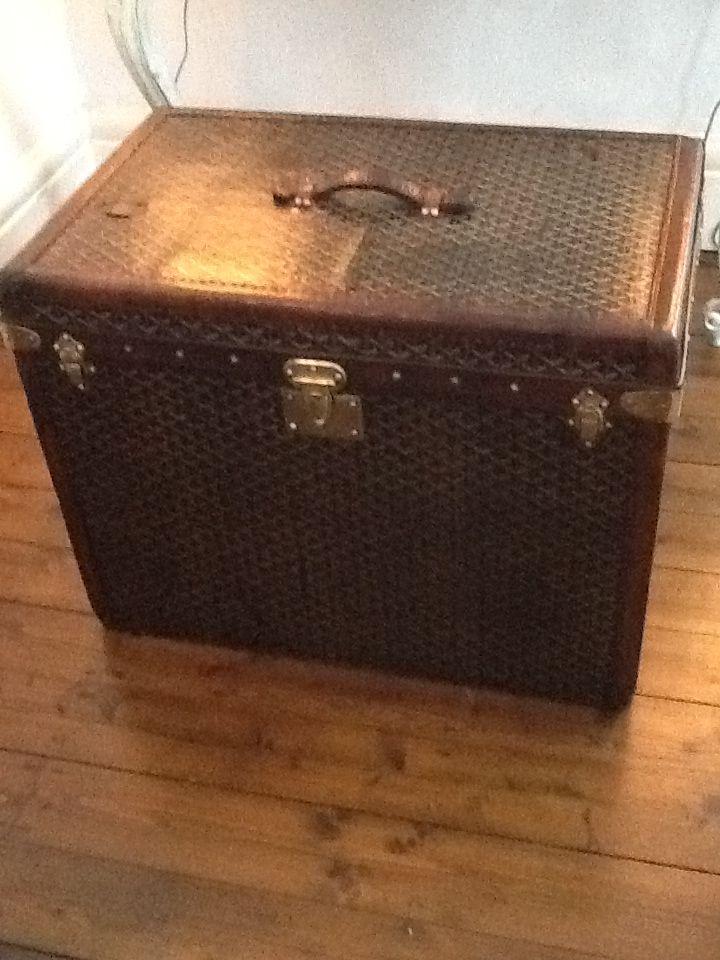 80840b35346 Goyard vintage hat trunk for sale at Rhodes-Wood Harrogate