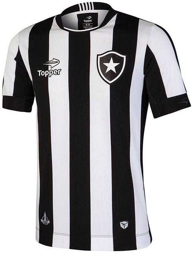 Topper lança as novas camisas do Botafogo Camisa Botafogo 314d7f35e4465
