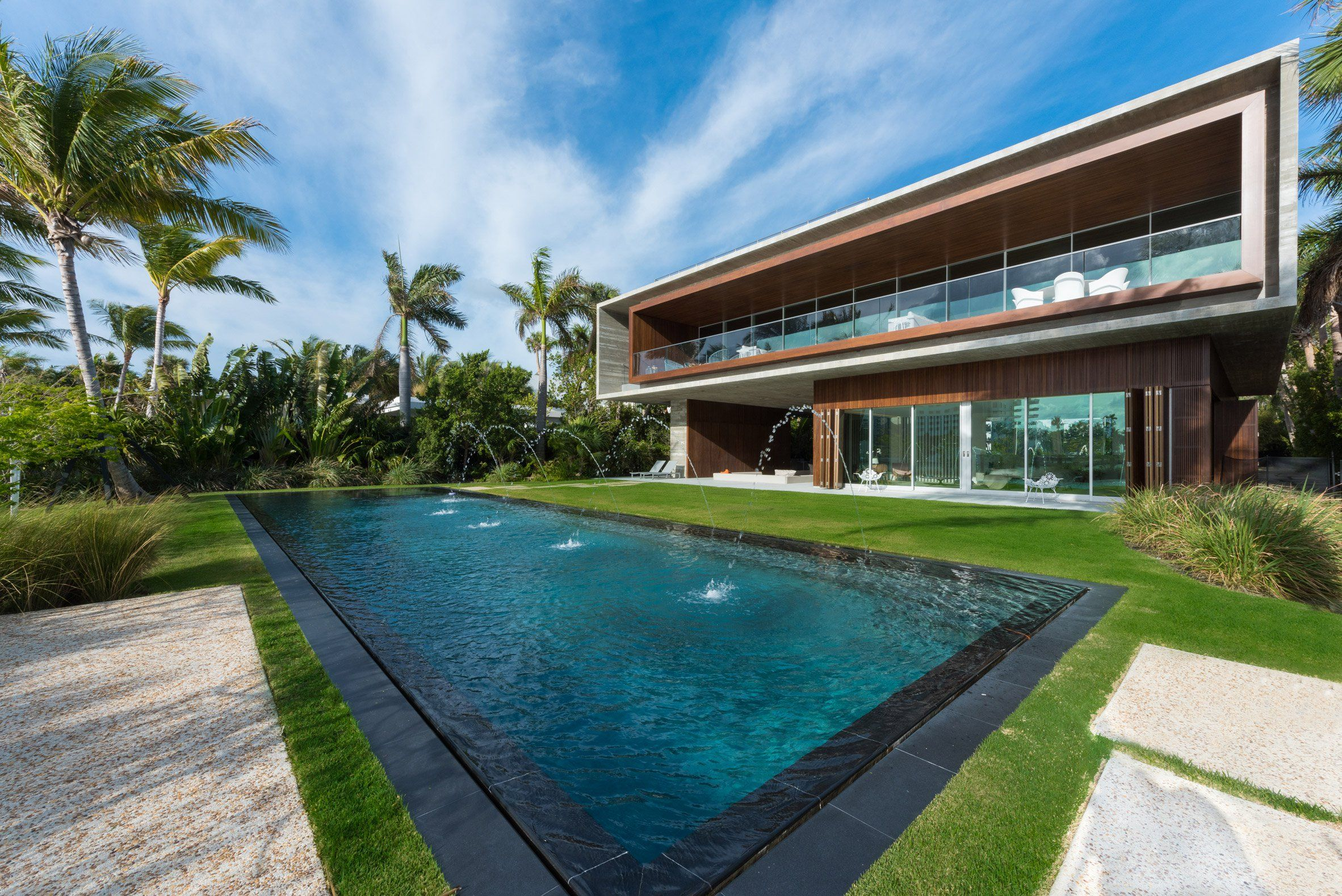 Brazilian Architect Marcio Kogan Of Studio MK27 Has Designed This Luxurious  Miami Beach Residence With A