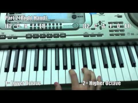 Famous Techno beats & riffs Piano Tutorial | Piano Tutorials