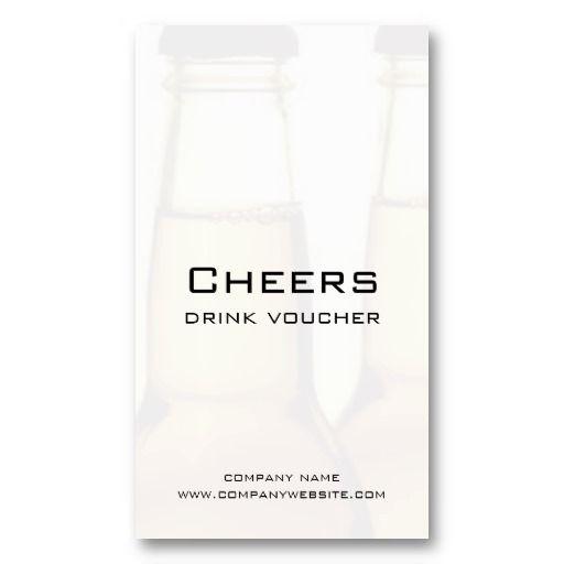 Beer Restaurant Or Brewery Drink Voucher Cards Zazzle Com Brewery Drinks Beer