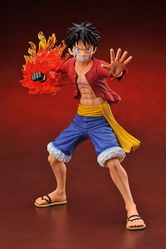 15cm Anime One Piece Luffy Figure For The New World Monkey
