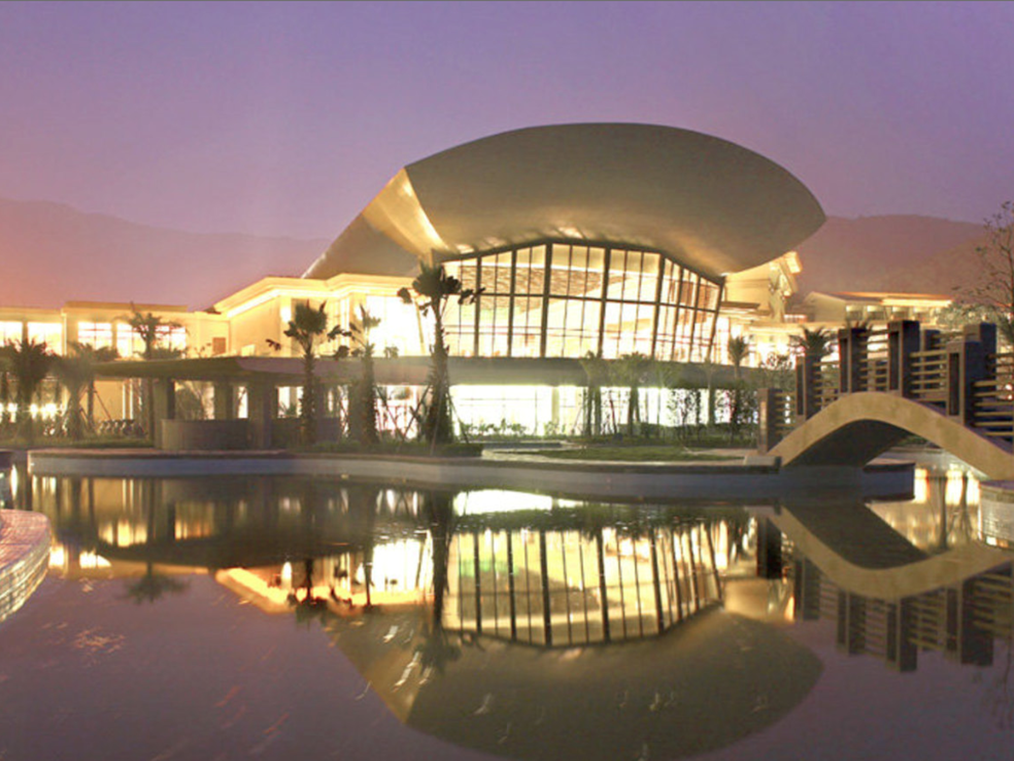 Ningbo New Century Resort Jiulong Lake Ningbo China, Asia Set in a prime location of Ningbo, New Century Resort Jiulong Lake Ningbo puts everything the city has to offer just outside your doorstep. The hotel offers guests a range of services and amenities designed to provide comfort and convenience. Service-minded staff will welcome and guide you at the New Century Resort Jiulong Lake Ningbo. Guestrooms are fitted with all the amenities you need for a good night's sleep. In so...