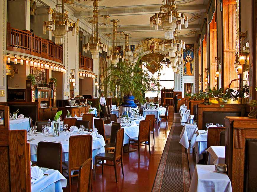 Art Deco restaurant | Ron Horloff | all galleries >> Architecture ...