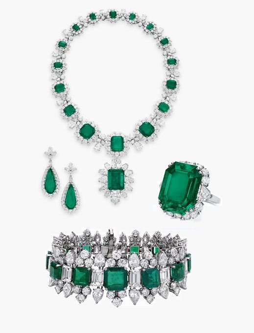 the 5 most expensive pieces of emerald jewelry in the