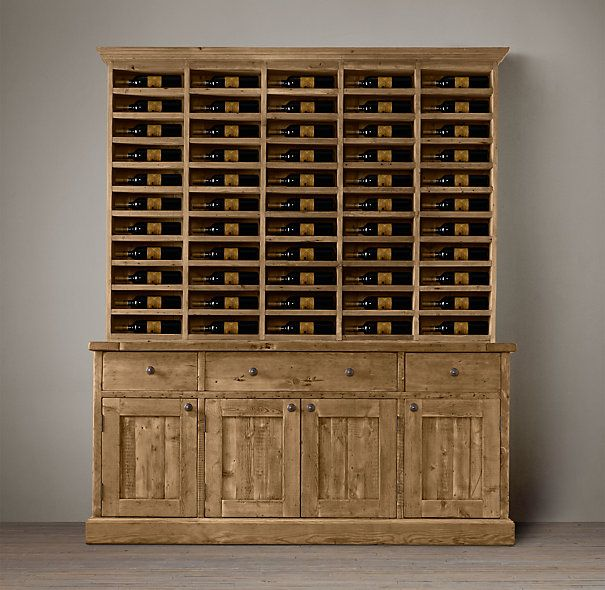 Salvaged Wood Vintners Hutch 1495 Special 1270 Stout Pine Timbers Reclaimed From Century Old Dining Room