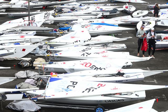 Postponed the First day of the European Championship due to hard weather conditions | Gran Canaria Sail in Winter