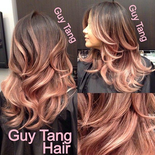 As 25 Melhores Ideias De Rose Hair Color No Pinterest