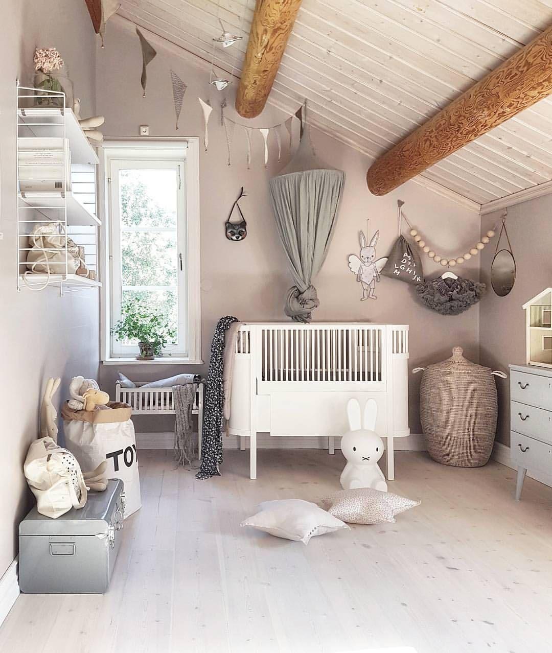 Belle #chambre d\'un #bébé http://www.m-habitat.fr/par-pieces/chambre ...