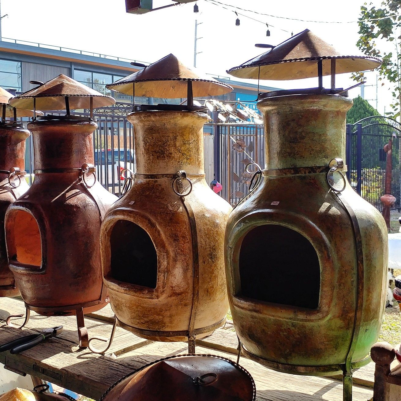 2017 chimineas great for small spaces contact us directly