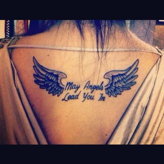 Tattoo Designs Rip Dad: May Angels Lead You In #angel Wings