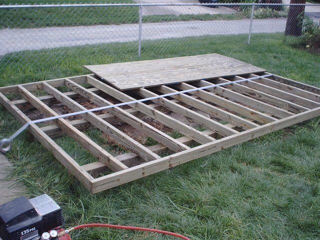 Storage Shed Foundation - Which Type Is Best? Garden Pinterest - best of blueprint software free mac