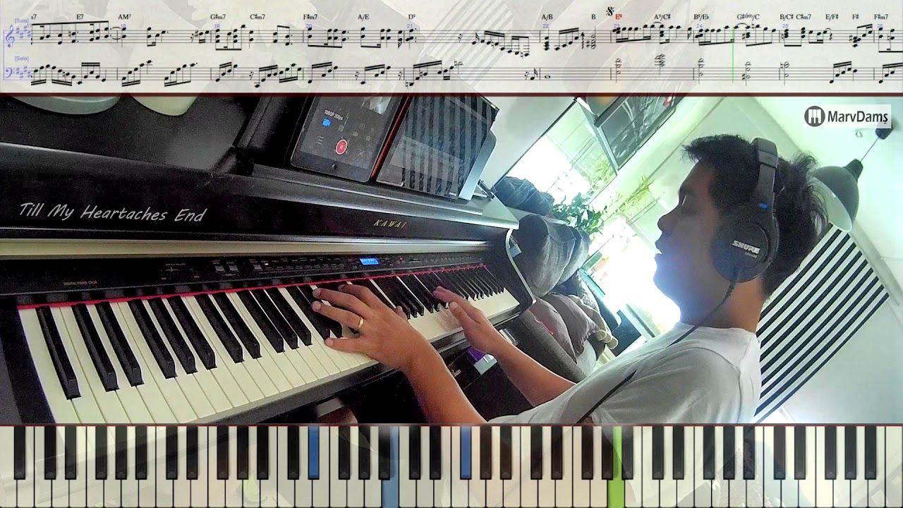 Till My Heartaches End / Piano Tutorial Sheet Music Guide