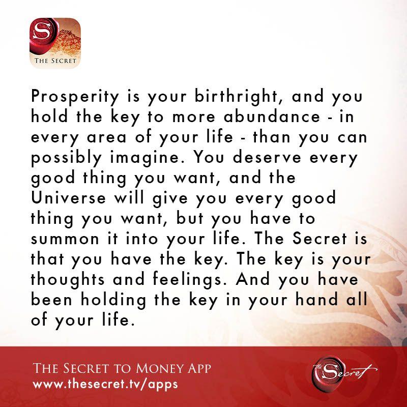 Abundance your birthright