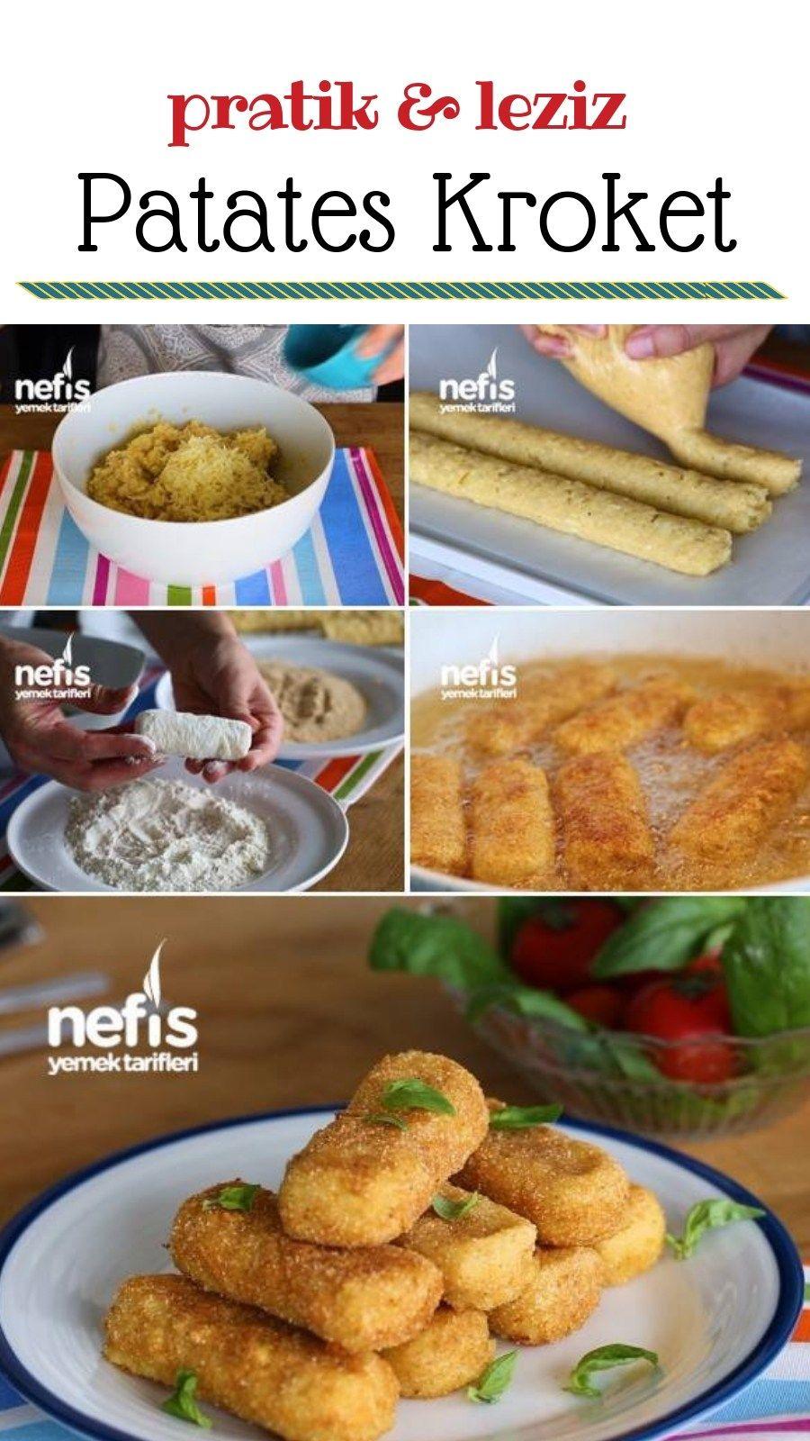 Pratik Patates Kroket Yapımı - Nefis Yemek Tarifleri #doğumgünüpartileri