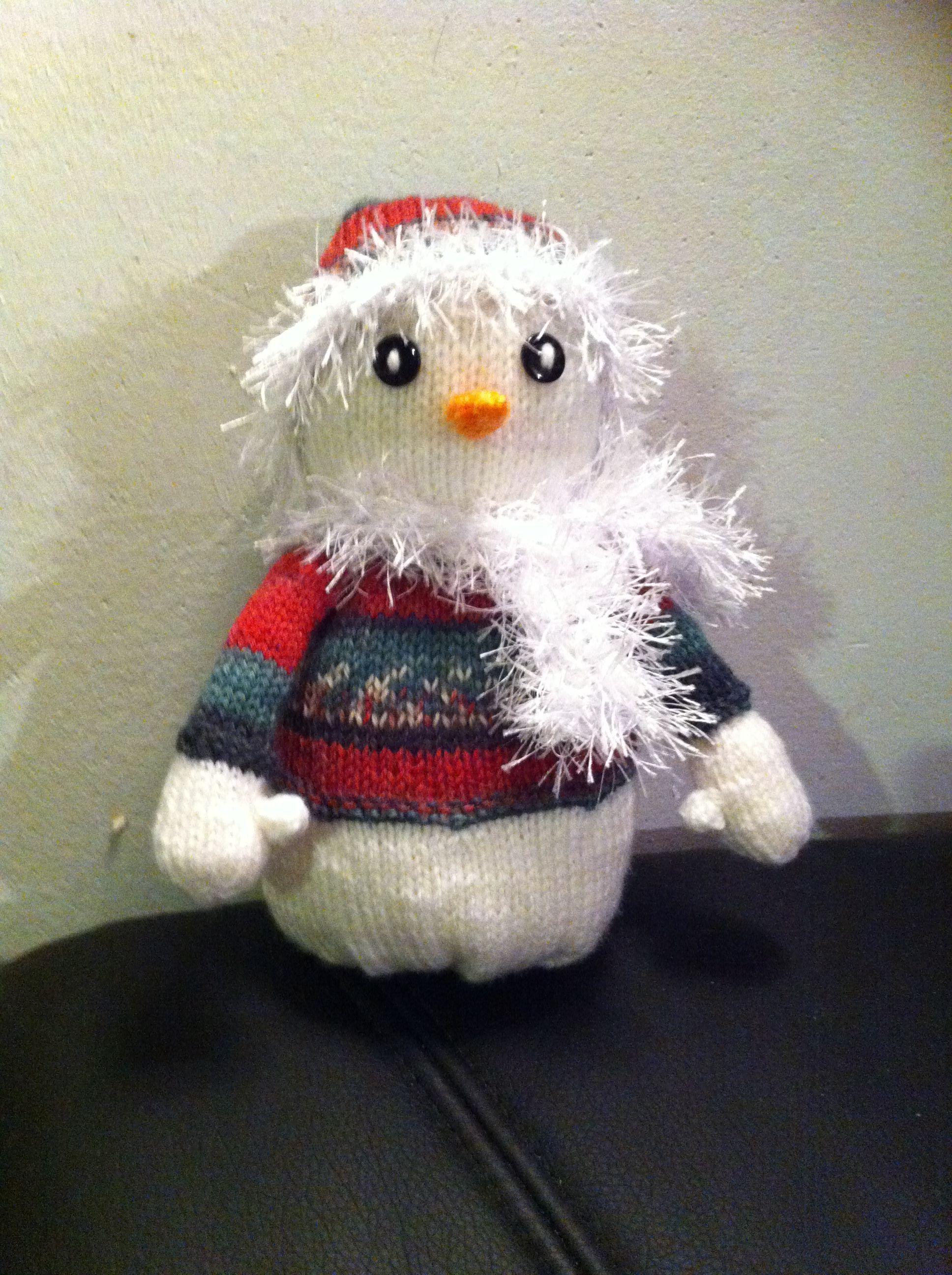 kleiner Weihnachtsschneemann | Winterliche Gesellen | Pinterest ...