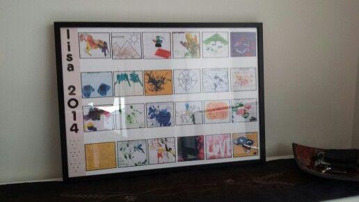 Daughter's art work