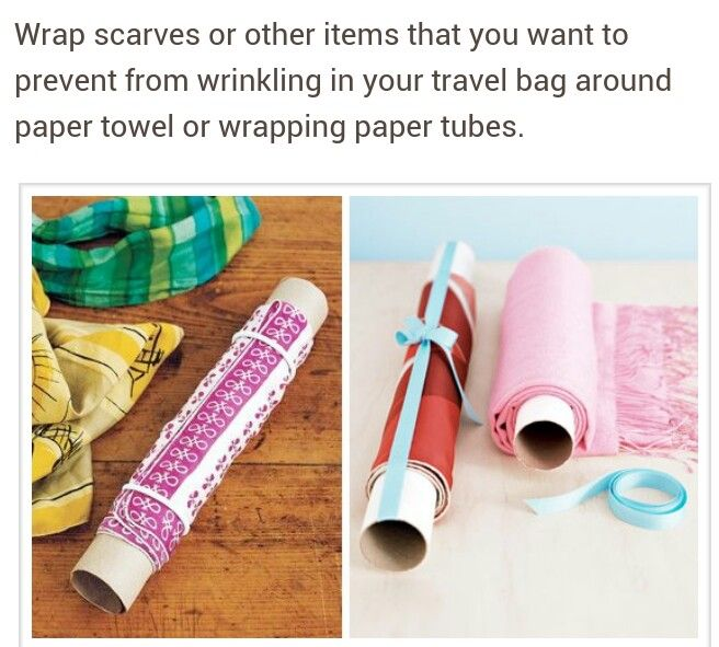 The P.J. Salvage team wants to pack like pros. Here is a cool tip.  #packit