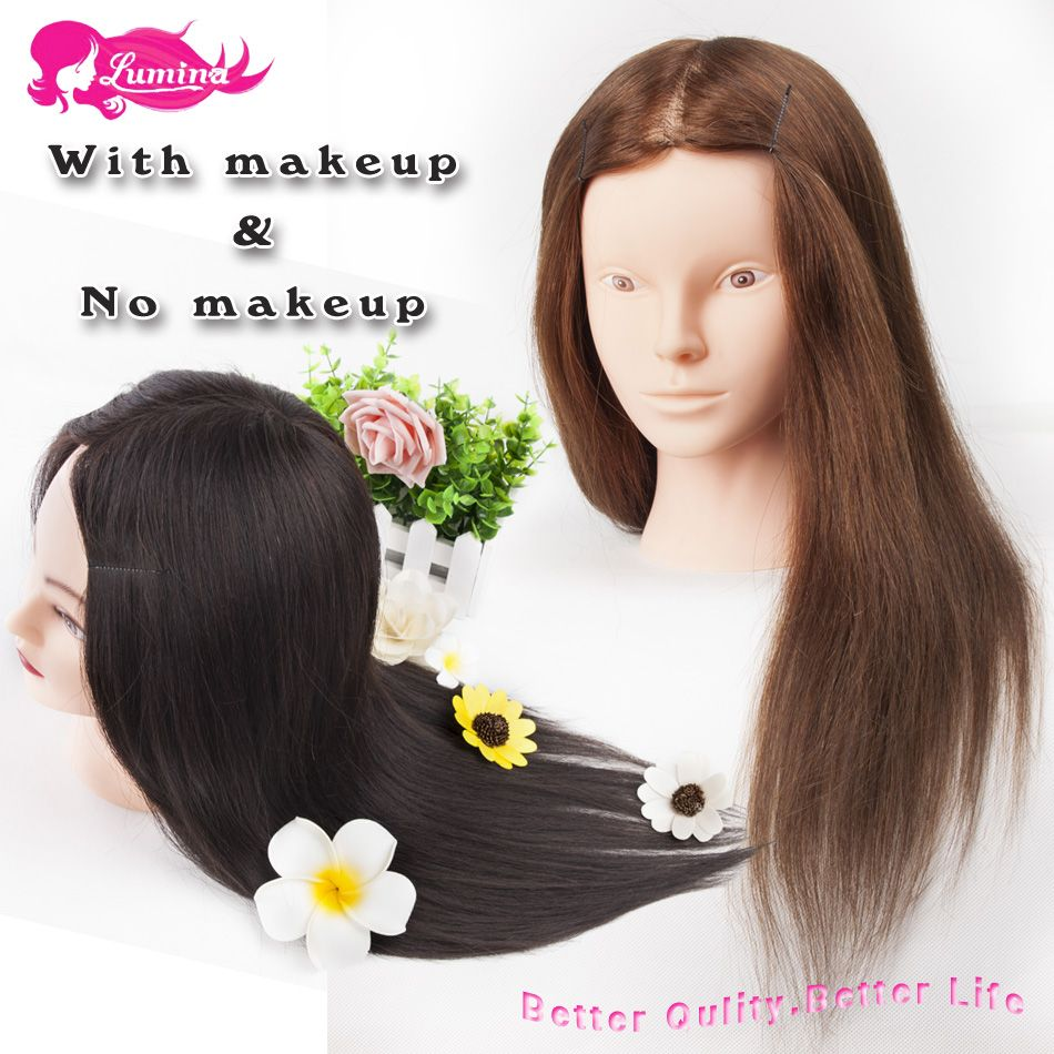 mannequin head with hair Picture More Detailed Picture
