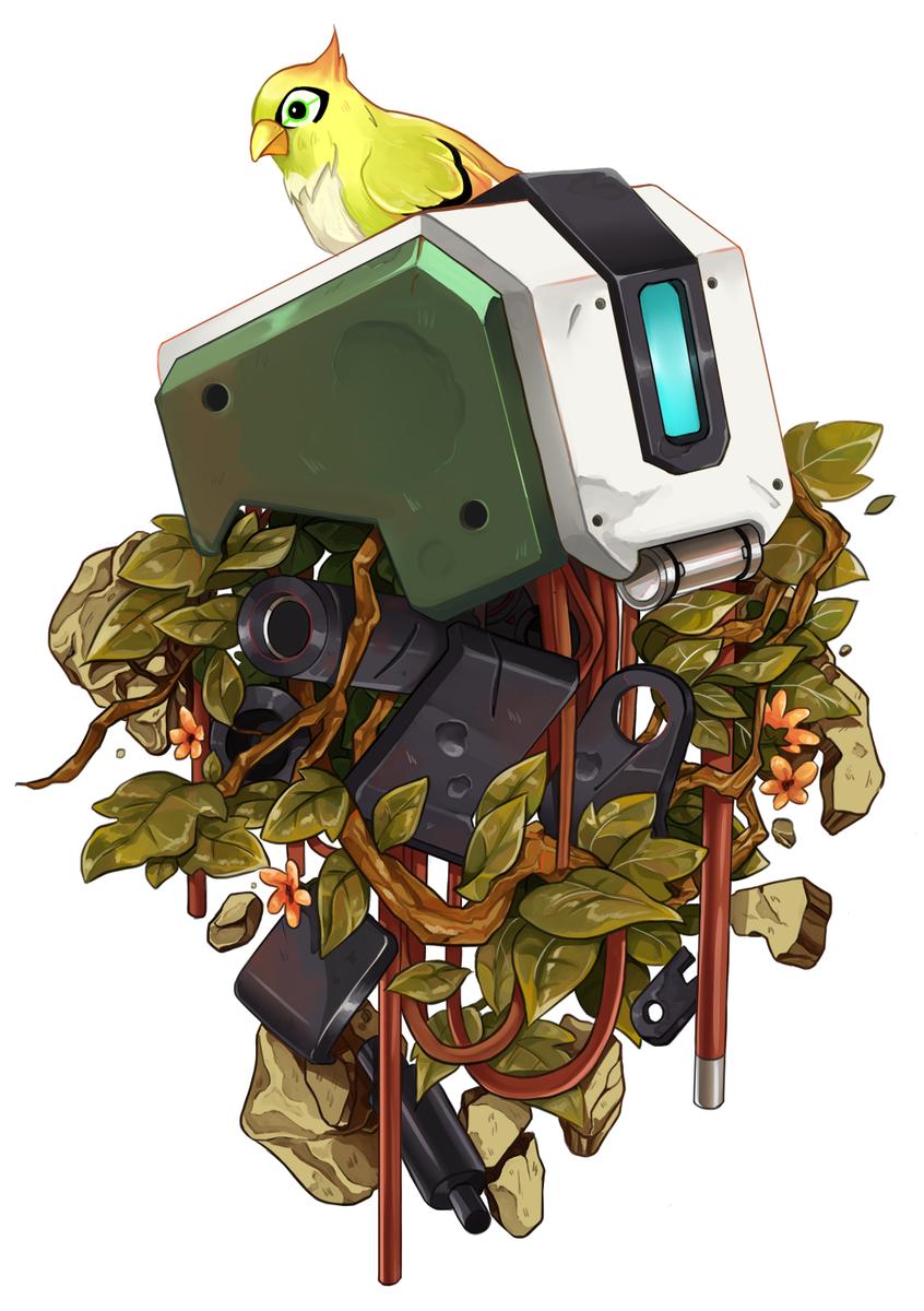 Ami Tookunami Twitter Overwatch Fan Art Overwatch Bastion Overwatch