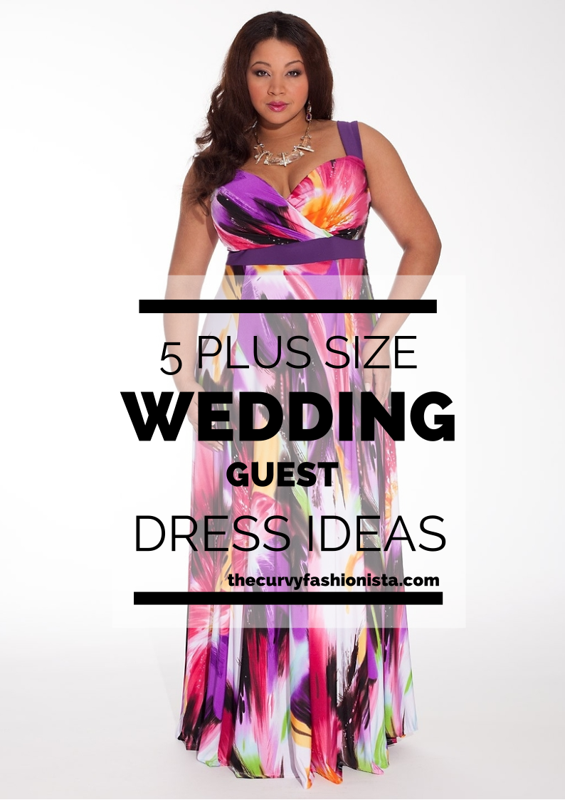 WEDDING SEASON: 5 Plus Size Wedding Guest Dresses